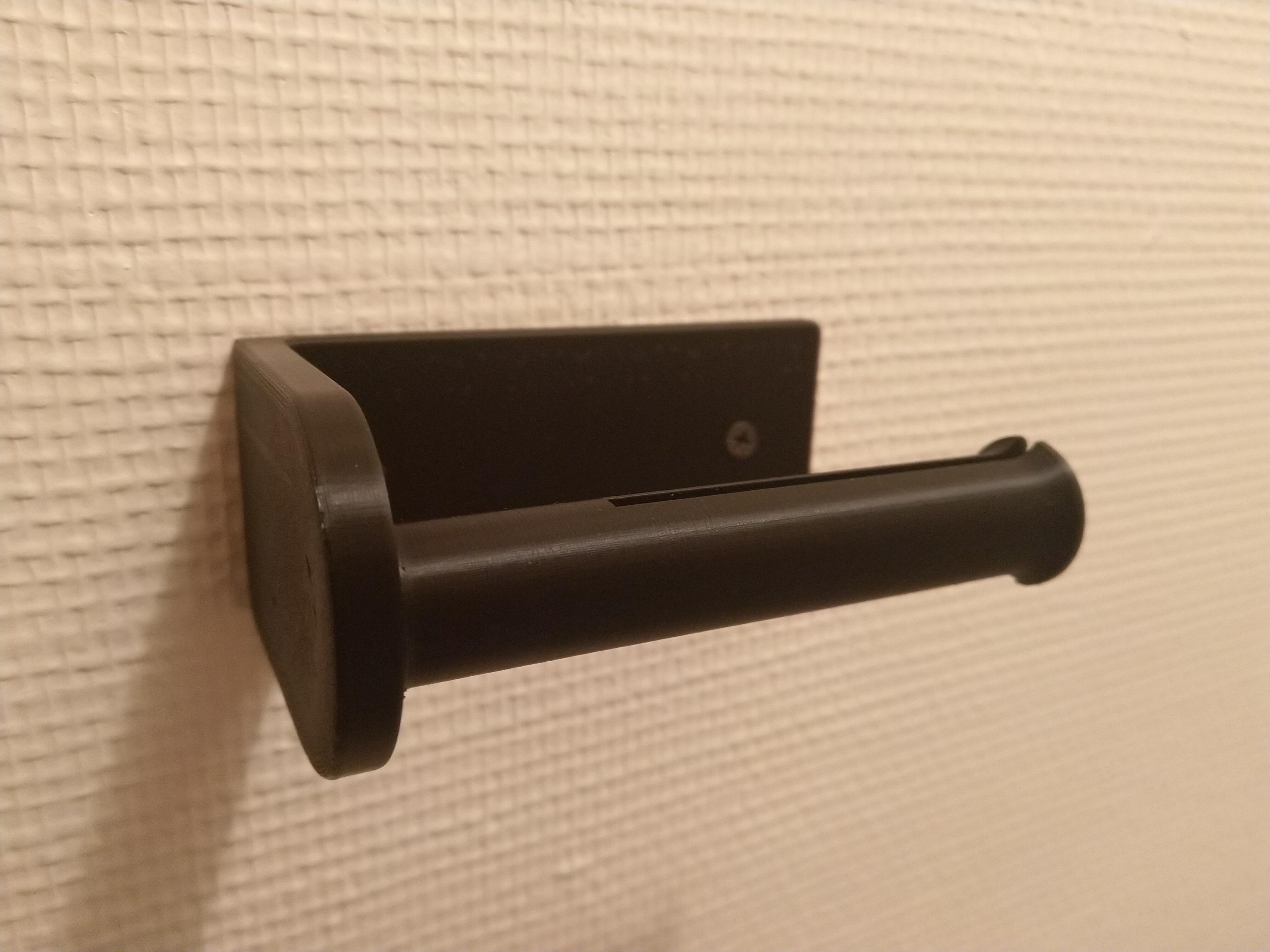 Dérouleur Papier Wc Metal simple toilet roll holder / simple dérouleur de papier